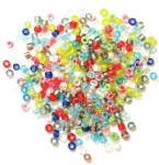 Rocailles Beads: 2mm: 5 Packs of 15g - Full Colour Range